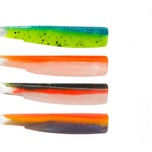 FIIISH Black Minnow 120 - Color Box UV - sleepy green- orange fluo- cande green- sunrise