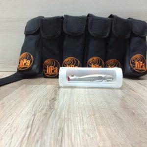 Cinturón HPA con tubos PVC
