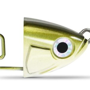 FIIISH Black Minnow 140 - 2 Shallow jig head - 10g - Kaki