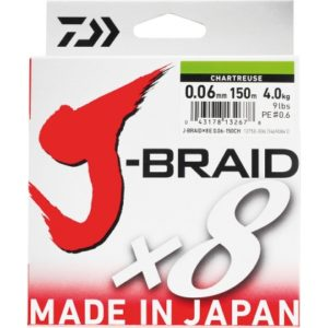 DAIWA J-BRAID X8 150 Metros