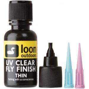 LOON BARNIZ UV CLEAR FLY FINISH THIN