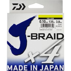 DAIWA J-BRAID X4 Amarillo