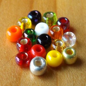 FLYBOX Glass Beads 3mm