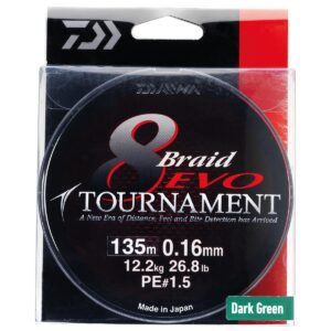 Daiwa Tournament 8 Braid EVO
