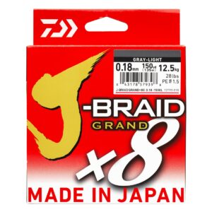 Trenzado Daiwa J-BRAID GRAND X8