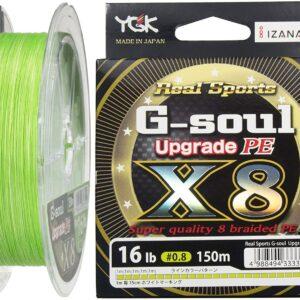 Trenzados YGK  G-soul  Upgrade PE X8