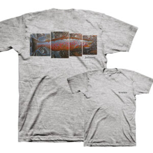 CAMISETA SIMMS DEYOUNG Salmon T-SHIRT
