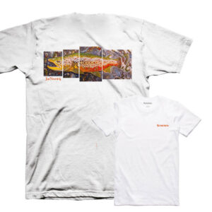 CAMISETA SIMMS DeYoung Brown Trout T-SHIRT