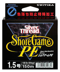 TRENZADO UNITIKA SILVER THREAD SHORE GAME