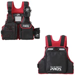 Chaleco Prox floating game vest red
