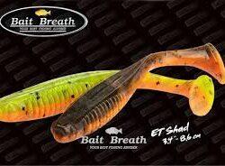 "BAIT BREATH E.T SHAD 3.4"""