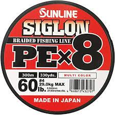 Trenzado SIGLON PE 8X 200 M LIGH GREEN