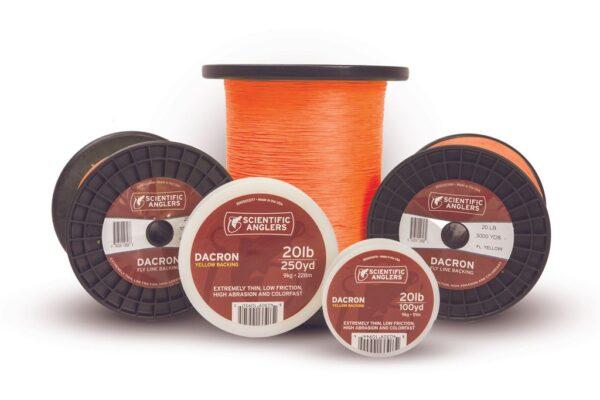 backing-naranja-scientific-anglers-20-lb